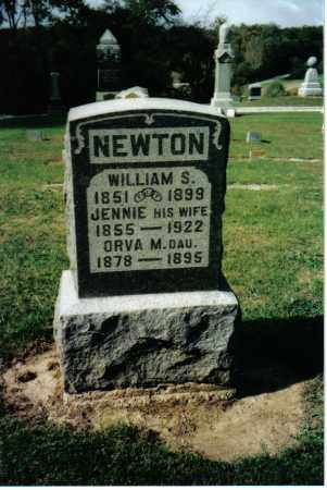 NEWTON, ORVA M. - Preble County, Ohio | ORVA M. NEWTON - Ohio Gravestone Photos
