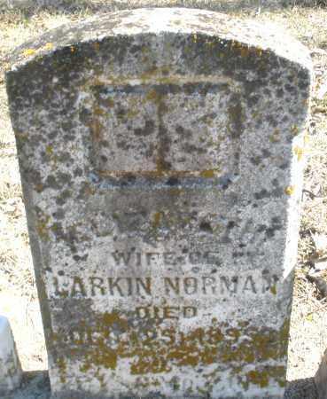 NORMAN, ELIZABETH - Preble County, Ohio | ELIZABETH NORMAN - Ohio Gravestone Photos