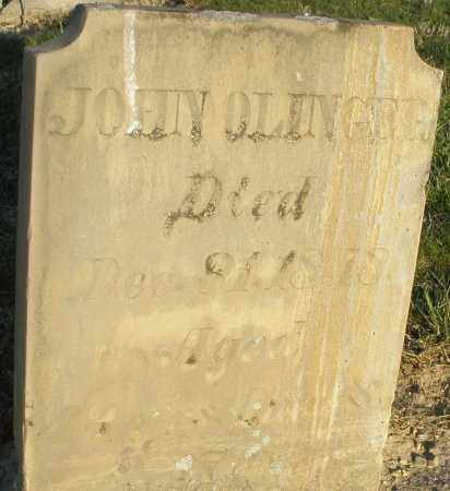 OLINGER, JOHN - Preble County, Ohio | JOHN OLINGER - Ohio Gravestone Photos