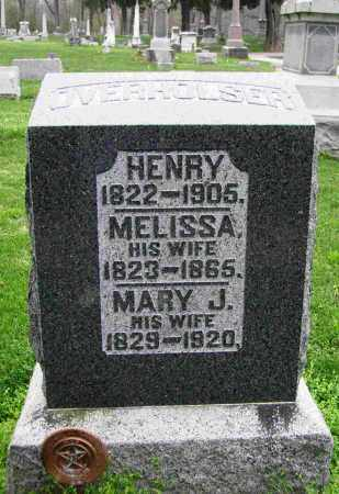 CONGER OVERHOLSER, MELISSA ELIZABETH - Preble County, Ohio   MELISSA ELIZABETH CONGER OVERHOLSER - Ohio Gravestone Photos