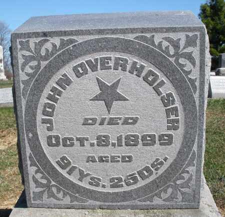OVERHOLSER, JOHN - Preble County, Ohio   JOHN OVERHOLSER - Ohio Gravestone Photos
