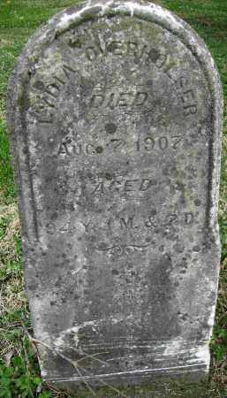 OVERHOLSER, LYDIA - Preble County, Ohio | LYDIA OVERHOLSER - Ohio Gravestone Photos