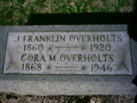 OVERHOLTS, JAMES - Preble County, Ohio | JAMES OVERHOLTS - Ohio Gravestone Photos
