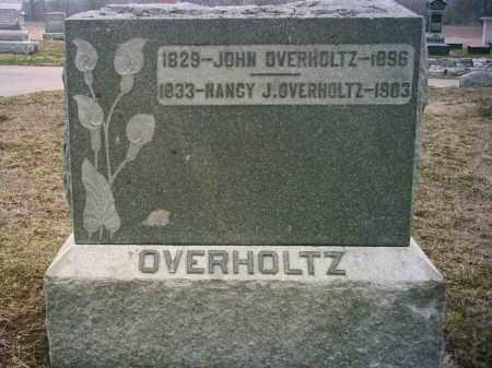 OVERHOLTZ(S), NANCY - Preble County, Ohio | NANCY OVERHOLTZ(S) - Ohio Gravestone Photos