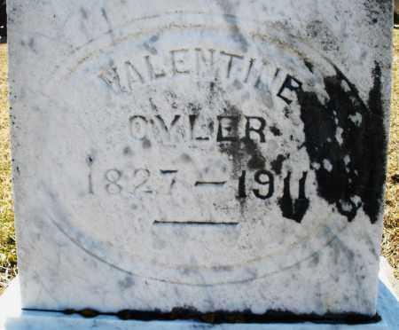 OYLER, VALENTINE - Preble County, Ohio | VALENTINE OYLER - Ohio Gravestone Photos