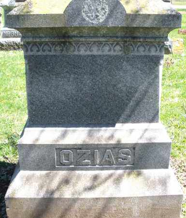 OZIAS, MONUMENT - Preble County, Ohio | MONUMENT OZIAS - Ohio Gravestone Photos