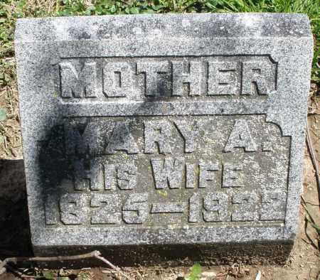 OZIAS, MARY A. - Preble County, Ohio   MARY A. OZIAS - Ohio Gravestone Photos
