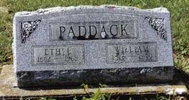 PADDACK, ETHEL - Preble County, Ohio   ETHEL PADDACK - Ohio Gravestone Photos