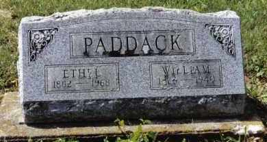 PADDACK, WILLIAM - Preble County, Ohio | WILLIAM PADDACK - Ohio Gravestone Photos