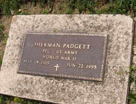 PADGETT, SHERMAN - Preble County, Ohio | SHERMAN PADGETT - Ohio Gravestone Photos