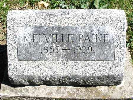 PAINE, MELVILLE - Preble County, Ohio | MELVILLE PAINE - Ohio Gravestone Photos