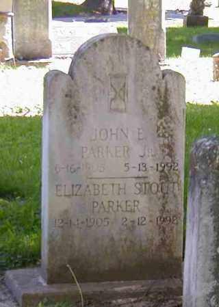 PARKER, JOHN E., JR. - Preble County, Ohio   JOHN E., JR. PARKER - Ohio Gravestone Photos