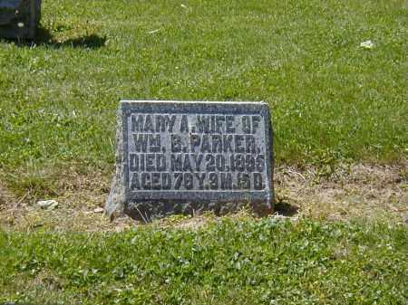 PARKER, MARY A. - Preble County, Ohio | MARY A. PARKER - Ohio Gravestone Photos