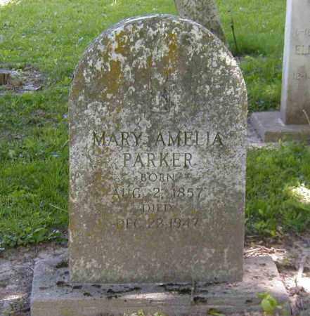 PARKER, MARY AMELIA - Preble County, Ohio   MARY AMELIA PARKER - Ohio Gravestone Photos