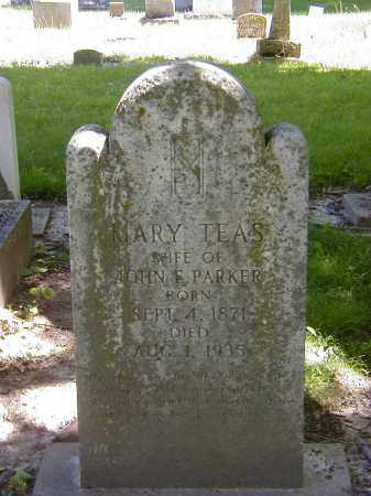 PARKER, MARY TEAS - Preble County, Ohio   MARY TEAS PARKER - Ohio Gravestone Photos