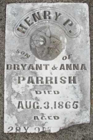 PARRISH, HENRY P. - Preble County, Ohio | HENRY P. PARRISH - Ohio Gravestone Photos