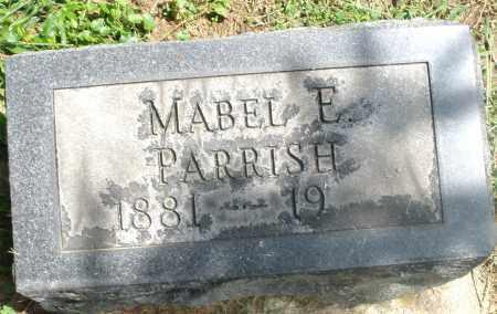 PARRISH, MABEL E. - Preble County, Ohio | MABEL E. PARRISH - Ohio Gravestone Photos