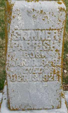 PARRISH, SKINNER - Preble County, Ohio | SKINNER PARRISH - Ohio Gravestone Photos