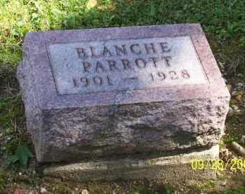 MCCABE PARROTT, BLANCHE - Preble County, Ohio | BLANCHE MCCABE PARROTT - Ohio Gravestone Photos
