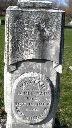 PAUL, KEZIAH - Preble County, Ohio   KEZIAH PAUL - Ohio Gravestone Photos