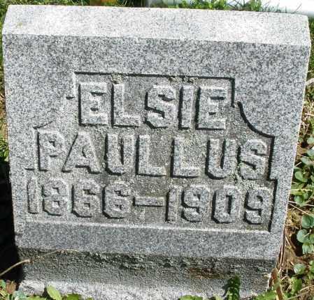 PAULLUS, ELSIE - Preble County, Ohio | ELSIE PAULLUS - Ohio Gravestone Photos