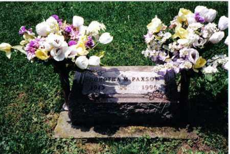 PAXSON, DORTHA M. - Preble County, Ohio   DORTHA M. PAXSON - Ohio Gravestone Photos