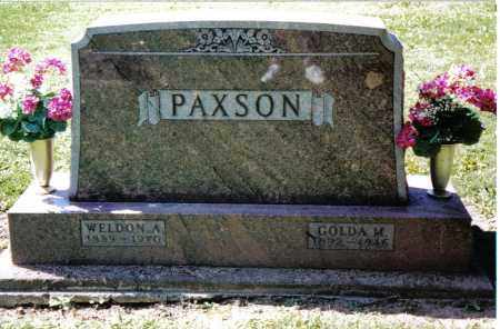 PAXSON, WELDON A. - Preble County, Ohio | WELDON A. PAXSON - Ohio Gravestone Photos