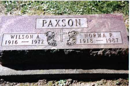 PAXSON, WILSON A. - Preble County, Ohio | WILSON A. PAXSON - Ohio Gravestone Photos