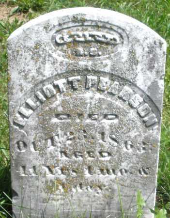 PEARSON, ELLIOTT - Preble County, Ohio | ELLIOTT PEARSON - Ohio Gravestone Photos