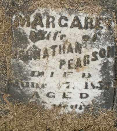PEARSON, MARGARET - Preble County, Ohio | MARGARET PEARSON - Ohio Gravestone Photos