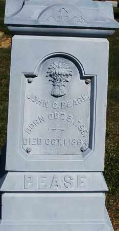 PEASE, JOHN C. - Preble County, Ohio   JOHN C. PEASE - Ohio Gravestone Photos