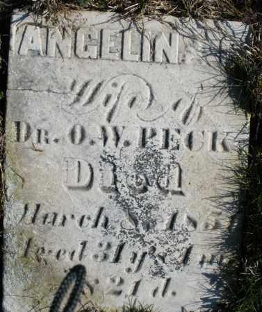 PECK, ANGELINE - Preble County, Ohio | ANGELINE PECK - Ohio Gravestone Photos