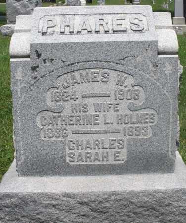 PHARES, SARAH E. - Preble County, Ohio | SARAH E. PHARES - Ohio Gravestone Photos