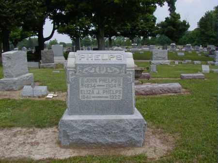 PHELPS, ELIZA J. - Preble County, Ohio | ELIZA J. PHELPS - Ohio Gravestone Photos