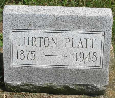PLATT, LURTON - Preble County, Ohio | LURTON PLATT - Ohio Gravestone Photos