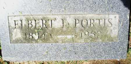PORTIS, ELBERT L. - Preble County, Ohio   ELBERT L. PORTIS - Ohio Gravestone Photos