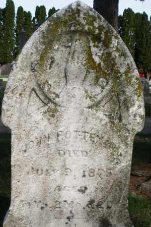 POTTENGER, JOHN - Preble County, Ohio   JOHN POTTENGER - Ohio Gravestone Photos