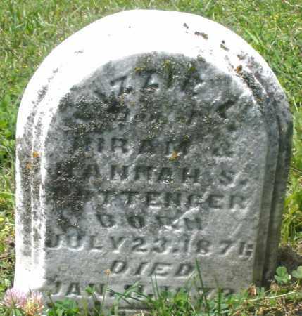 POTTENGER, LIZZIE L. - Preble County, Ohio | LIZZIE L. POTTENGER - Ohio Gravestone Photos