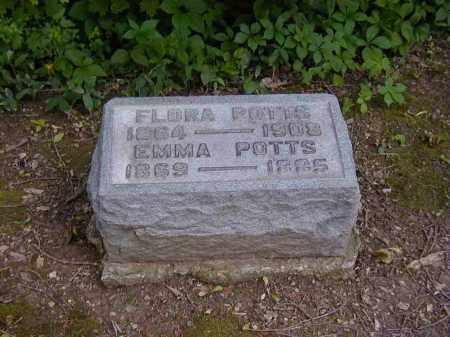 POTTS, FLORA - Preble County, Ohio | FLORA POTTS - Ohio Gravestone Photos