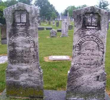 PRICE, REBECCA - Preble County, Ohio | REBECCA PRICE - Ohio Gravestone Photos