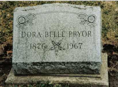 PRYOR, DORA BELLE - Preble County, Ohio | DORA BELLE PRYOR - Ohio Gravestone Photos