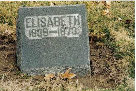 PRYOR, ELISABETH - Preble County, Ohio | ELISABETH PRYOR - Ohio Gravestone Photos