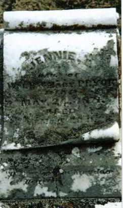 PRYOR, JENNIE E. - Preble County, Ohio   JENNIE E. PRYOR - Ohio Gravestone Photos