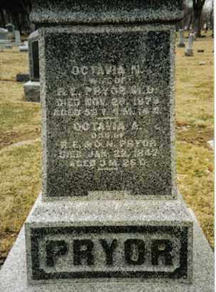 PRYOR, OCTAVIA N. - Preble County, Ohio | OCTAVIA N. PRYOR - Ohio Gravestone Photos
