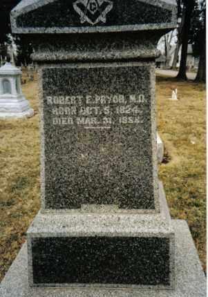 PRYOR, ROBERT E. - Preble County, Ohio | ROBERT E. PRYOR - Ohio Gravestone Photos