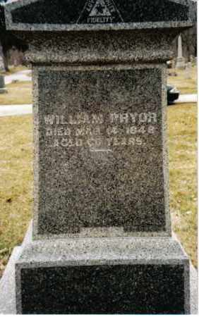 PRYOR, WILLIAM - Preble County, Ohio | WILLIAM PRYOR - Ohio Gravestone Photos