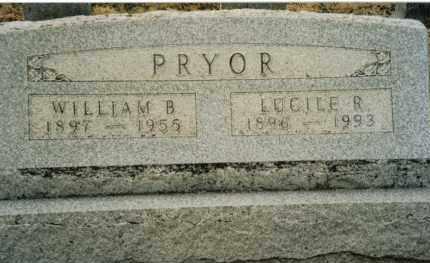 PRYOR, LUCILE R. - Preble County, Ohio | LUCILE R. PRYOR - Ohio Gravestone Photos