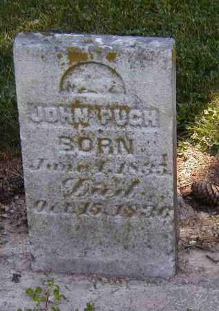 PUGH, JOHN - Preble County, Ohio   JOHN PUGH - Ohio Gravestone Photos