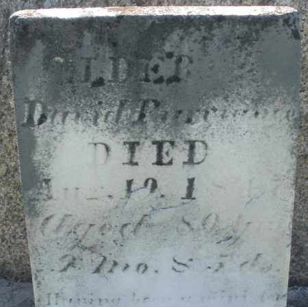 PURVIANCE, DAVID - Preble County, Ohio | DAVID PURVIANCE - Ohio Gravestone Photos