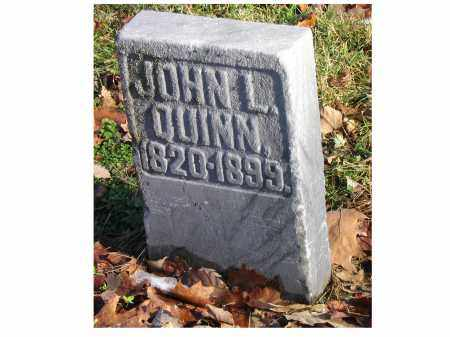 QUINN, JOHN L - Preble County, Ohio | JOHN L QUINN - Ohio Gravestone Photos